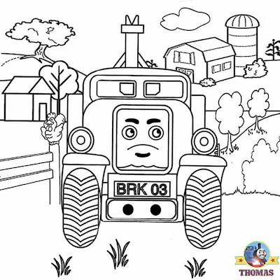Recovery Butch Thomas the train pictures printable worksheets for nursery kids free coloring pages