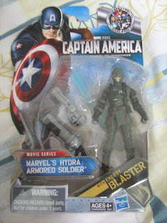 Marvel Universe Captain America Avengers Hydra Red Skull  Dark Threat Armored Soldier Army Builder