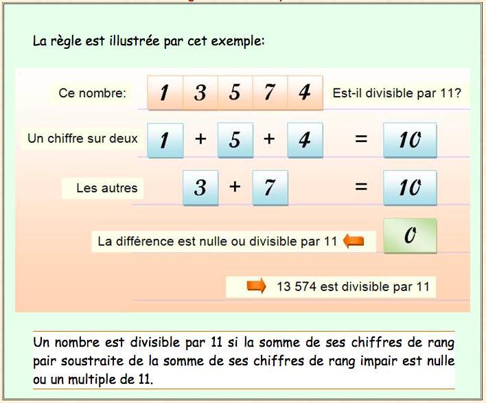 comment trouver les nombres divisible par 3