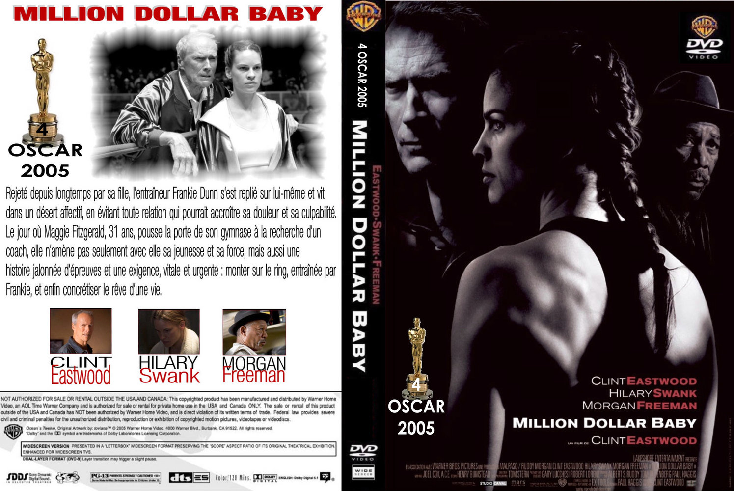 million dollar baby film overview There is a moment early in cinderella man when we see russell  the closest connection is with million dollar baby, also a film about a fighter whose deepest.