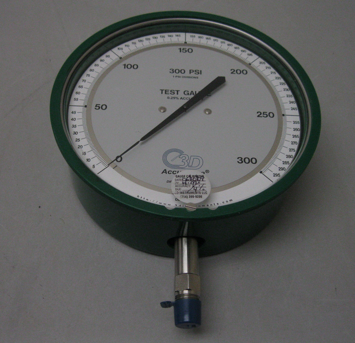 3G INSTRUMENT Gauge #300 psi