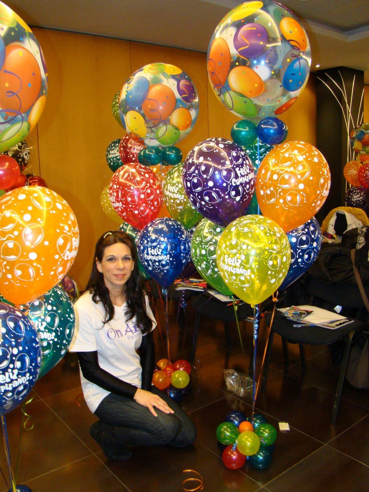 Artelou decoracion de globos for Decoracion con globos