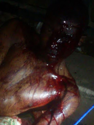See what they did to an armed robber in Mushin (photos) 2
