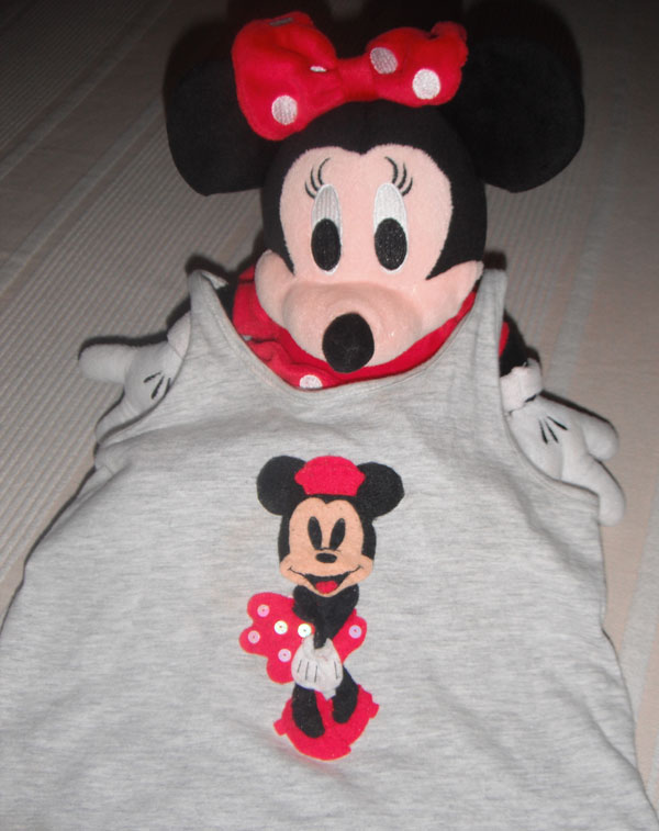 Camiseta Minnie Mouse