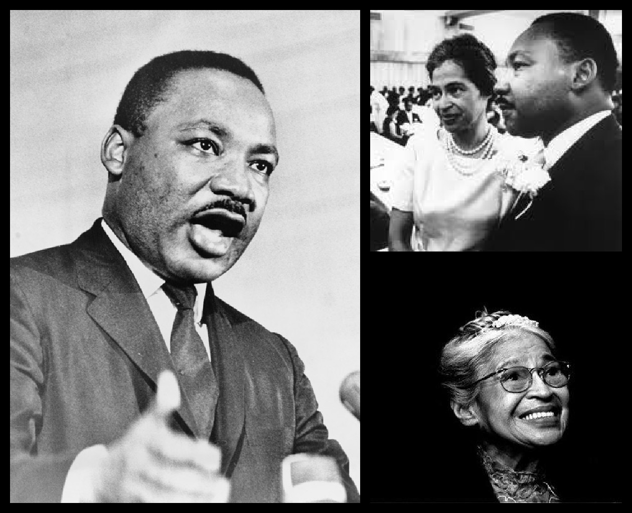 african american and rosa parks As a result, the civil rights movement was born john will talk about the early careers of martin luther king, thurgood marshall, rosa parks, and even earl warren.