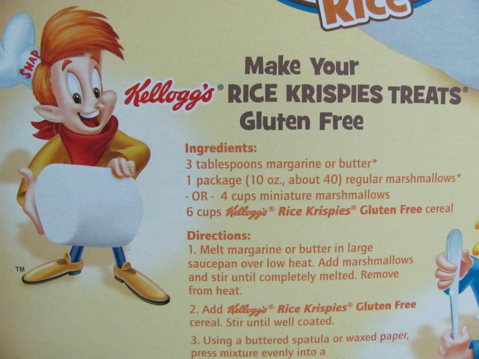 Gluten Free Mom: Gluten Free Rice Krispies??!!!