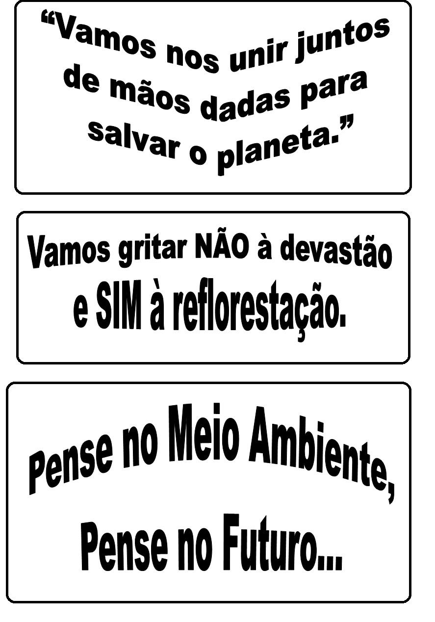 Blog Educacional Profª Jezaine Frases Para Cartaz Dia Da árvore