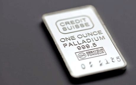 Palladium price sets fresh 13-year high