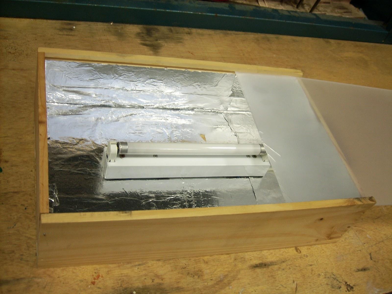 Raquel mira bastidas como fabricar una caja de luz de for Mesa de luz para dibujo