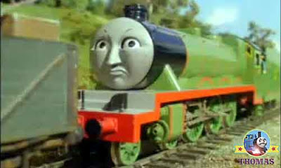 Thomas and his friends Henry the number 3 engine hated old haunted railway underground passageways