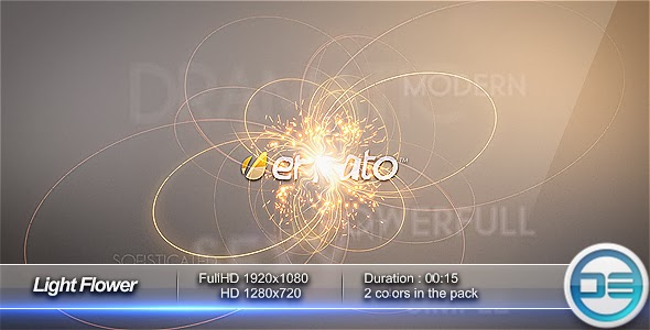 VideoHive Light Flower Intro