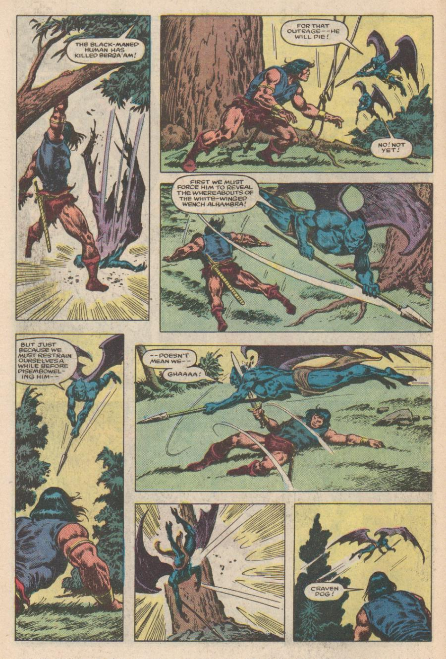 Conan the Barbarian (1970) Issue #168 #180 - English 13