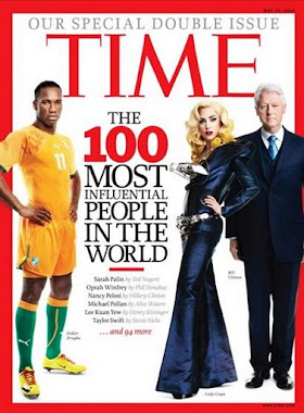 LADY GAGA COVER OF TIME MAGAZINE