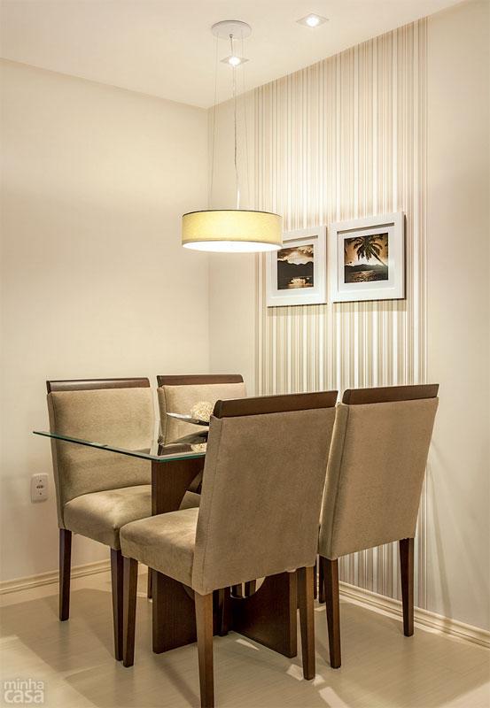 Reforma e decor apartamento pequeno 63m for Mesas para apartamentos pequenos