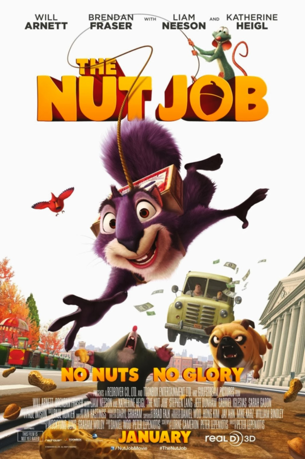 The Nut Job 3D Movie HD Poster