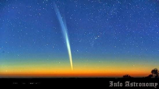 Ledakan Komet ISON Membuatnya Terlihat dengan Mata Telanjang