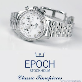 Crown Princess Victoria style EPOCH Scandinavian White Watches