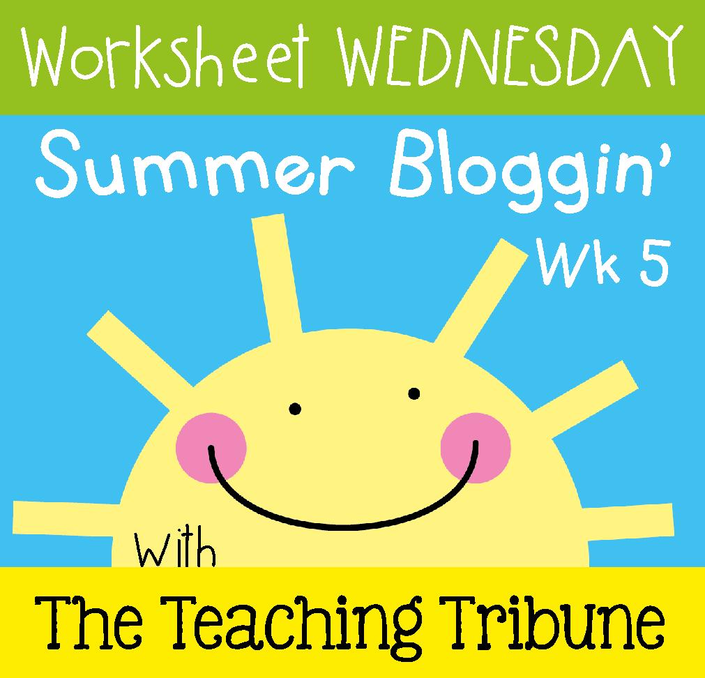http://www.theteachingtribune.com/2014/07/worksheet-wednesday-5.html