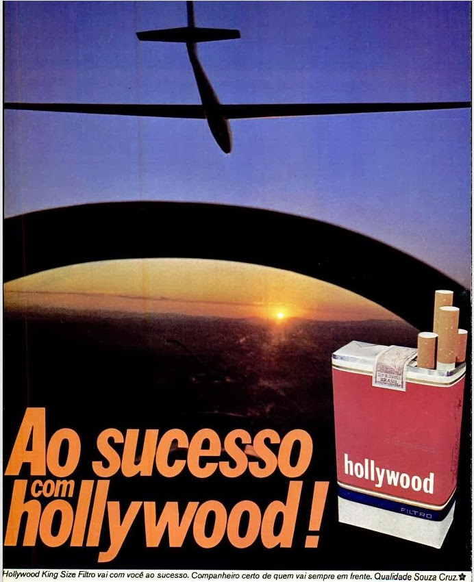 1977. propaganda cigarros anos 70.  propaganda anos 70; história decada de 70; reclame anos 70.  Brazil in the 70s. Oswaldo Hernandez;