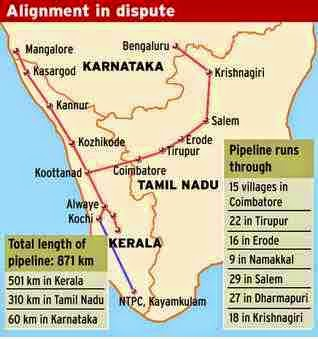 Gail gas pipe line project is hold based on court order, Tamilnadu Gail gas pipeline news