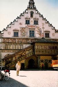 太美的市政厅。Lindau市。Bodensee是德国最大的湖,湖的另一面是瑞士。沿湖有无数景点,美不胜收。(点击图片)