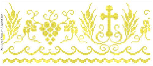 Церковная вышивка схемы