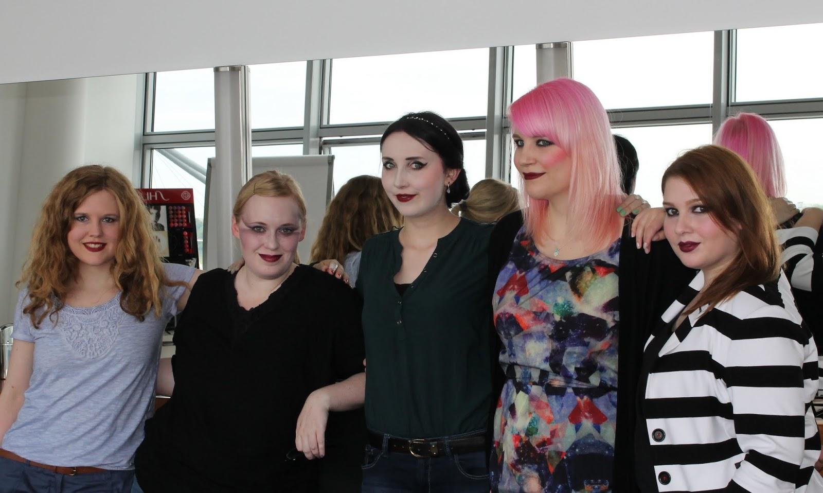 Gruppenbild Serge Lutens Event Shiseido Beauty Academy in Düsseldorf