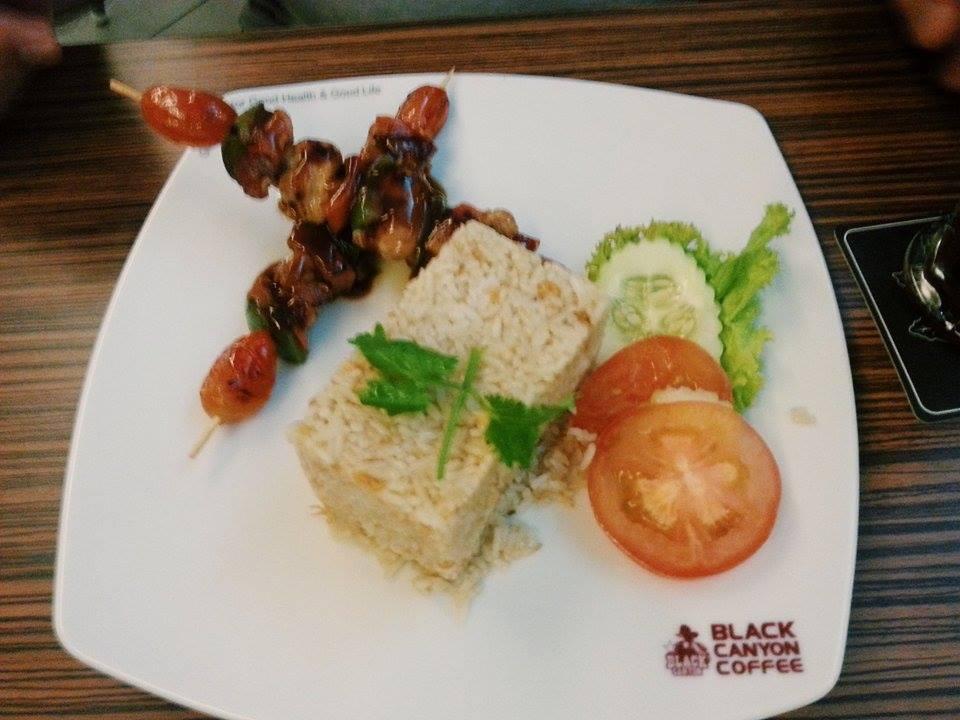 bbq chicken fried rice
