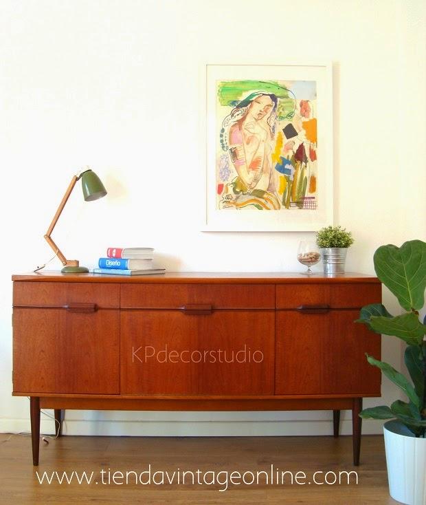 Artesanato Junino ~ KP Tienda Vintage Online Aparador inglés estilo danés Ref D15