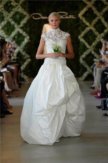 I Heart Wedding Dress Oscar De La Renta Bridal 2013
