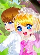 Необычная свадьба - Онлайн игра для девочек