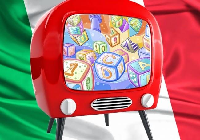 Уроки итальянского, телевидение