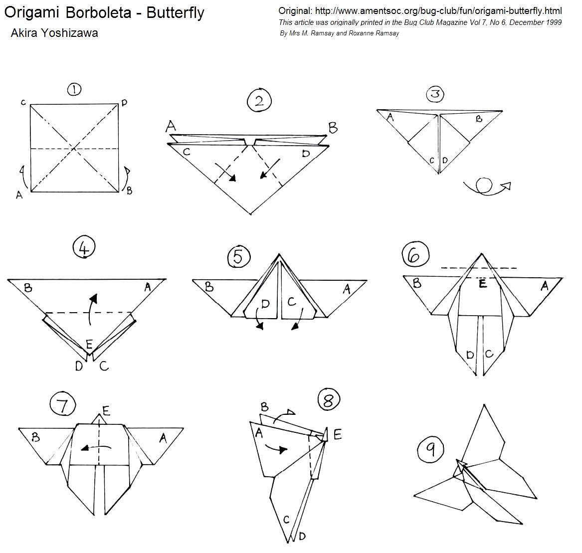 Бабочки оригами из бумаги своими руками схемы оригами 61