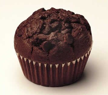 Double Chocolate Muffins - The Recipe Corner