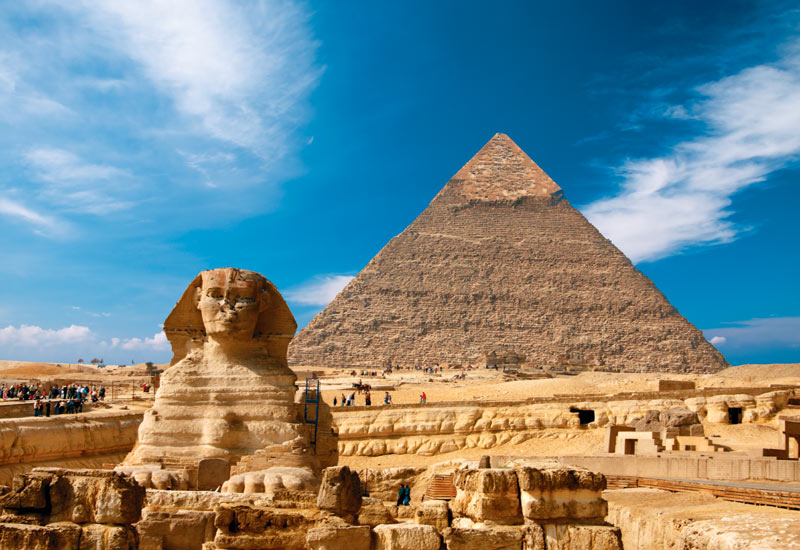 famous egyptian pyramids names