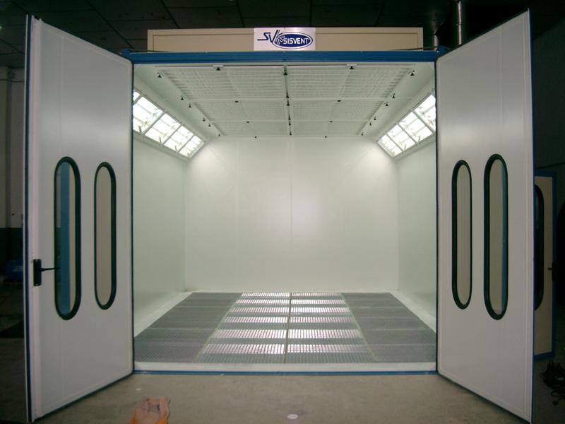 Elementos amovibles y fijos no estructurales el taller for Cabina de pintura portatil