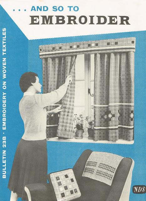 "Needlework Development leaflet ""Bulletin 23B"""