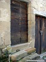 Sauvagnat sainte-Marthe, Puy de Dôme. portes de caves