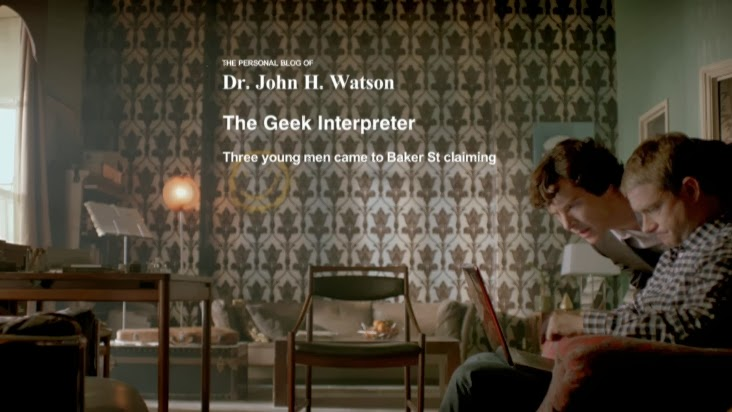 Sherlock wallpaper image from The Consulting Detective blog