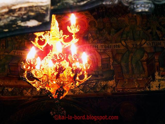 candelabru biserica mogosoaia