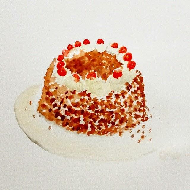 Dc Nr 160 Birthday Cake Happy