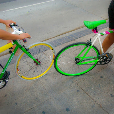 Colorful bicycles (C) Glenn Primm Photography