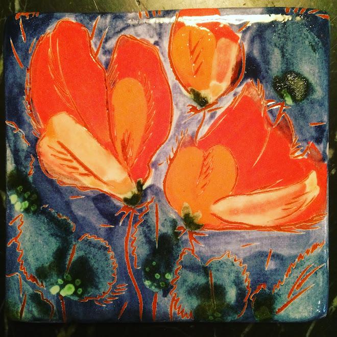 """ Fleurs qui dansent "" Jardin Imaginaire"