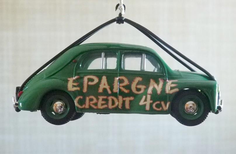 Garage de poche jip renault 4cv pargne cr dit for Credit garage renault