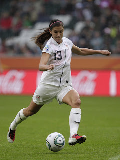 Alex Morgan is hot
