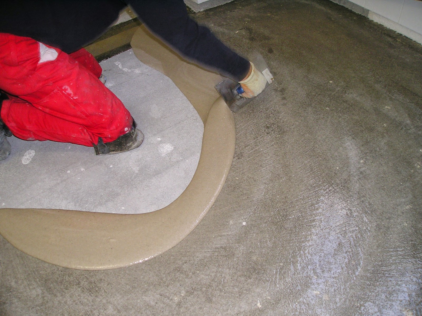 Pavimentos de resinas epoxi hormig n impreso y pulido en for Hormigon para pavimentos