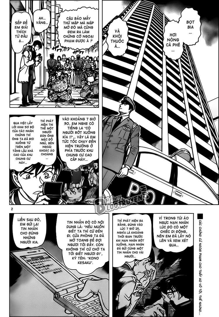 Detective Conan - Thám Tử Lừng Danh Conan chap 810 page 3 - IZTruyenTranh.com