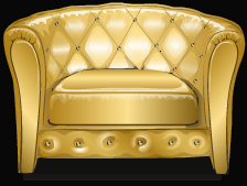 Free Golden Sofa