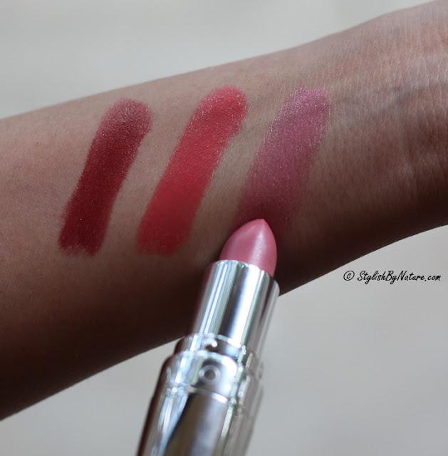 Avon lovey dovey pink lipstick