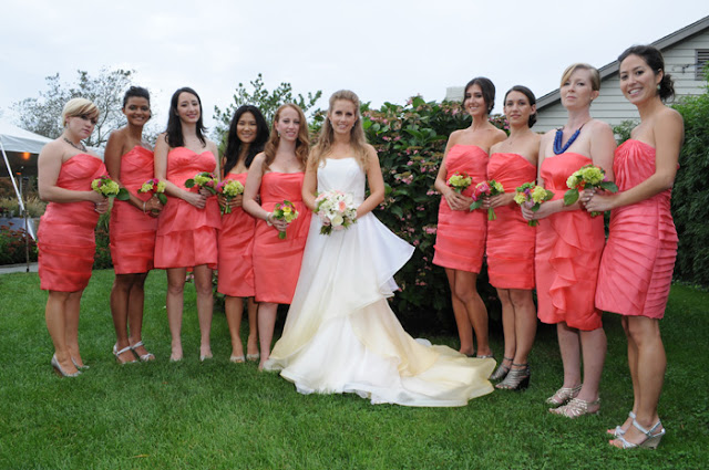 Solé East Montauk Wedding bridesmaids